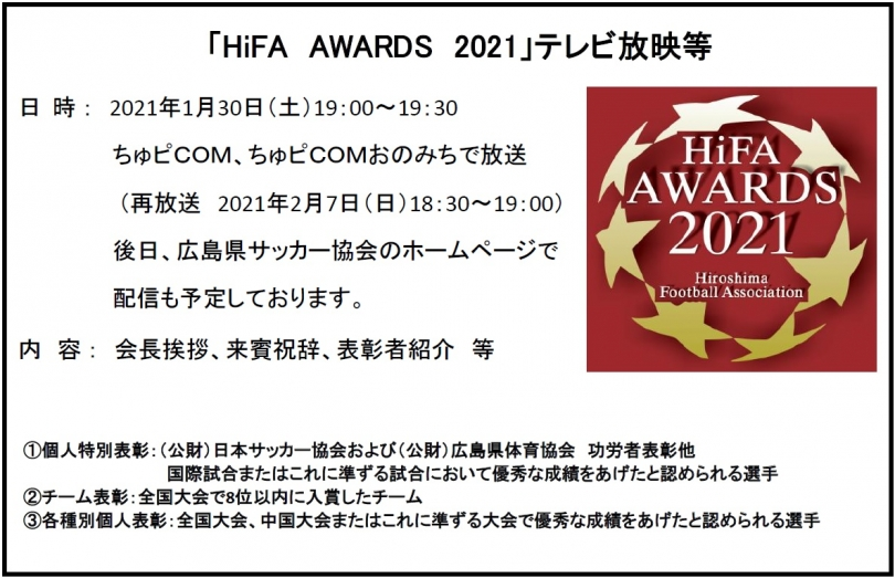 HiFA AWARDS 2021